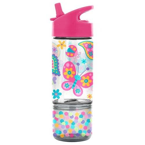 Butterfly Sip And Snack Bottle