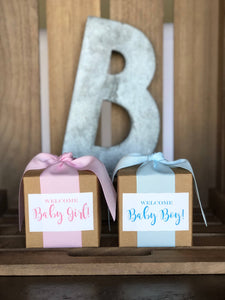 Baby Girl/Baby Boy 4oz Gift Boxes