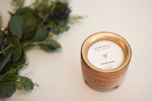 Champagne Barrel Aged Candle