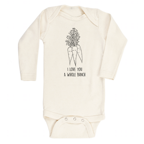 I Love You a Whole Bunch L/S Bodysuit