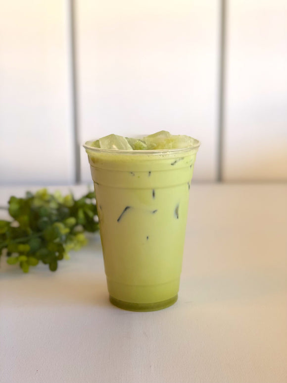 Drink of the Month: Iced Coconut Matcha Chai