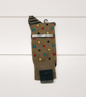 Brown Dots Sock
