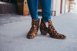 Sunny Boots - Leopard