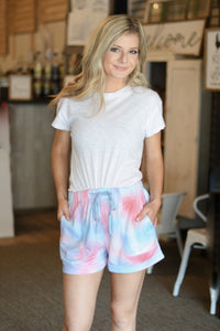 Cotton Candy Summer Shorts