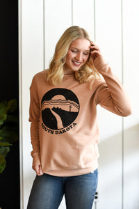 SD Farmscape Crew Sweater - Sand