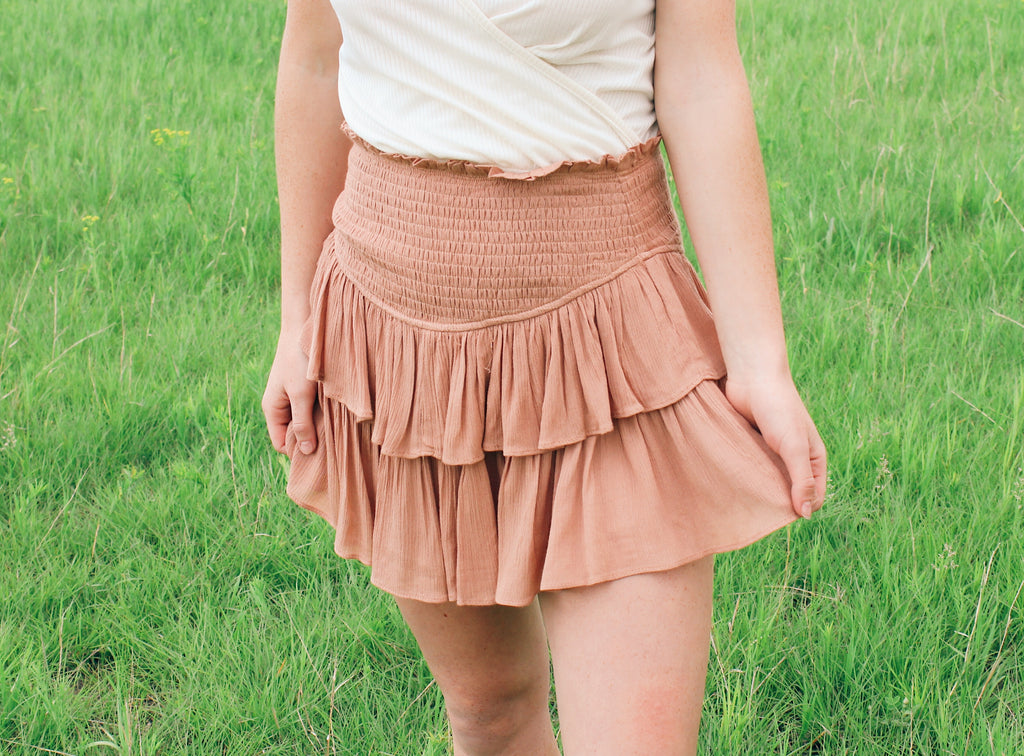 Roseanna Mini Skirt