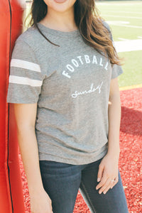 Football Sunday Tee (Grey)
