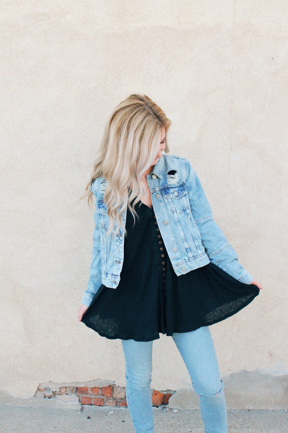 Rumors Denim Jacket Light Denim