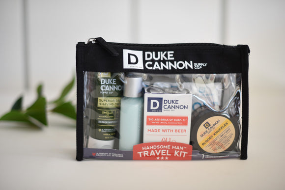 Handsome Man Travel Kit