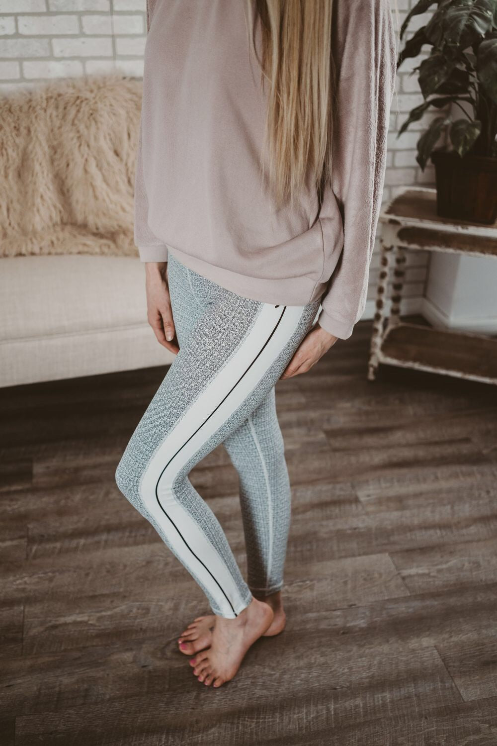 HW Sideline Grain Leggings