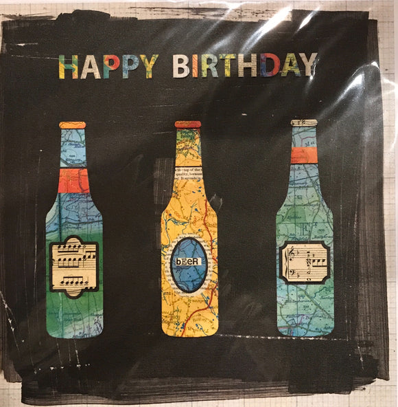 Paper Ninja - Birthday Beer