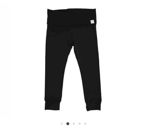 Bamboo Baby Joggers - Black