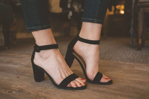 Striking Heeled Sandal