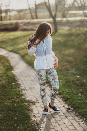 HW Full Legging - Tropical