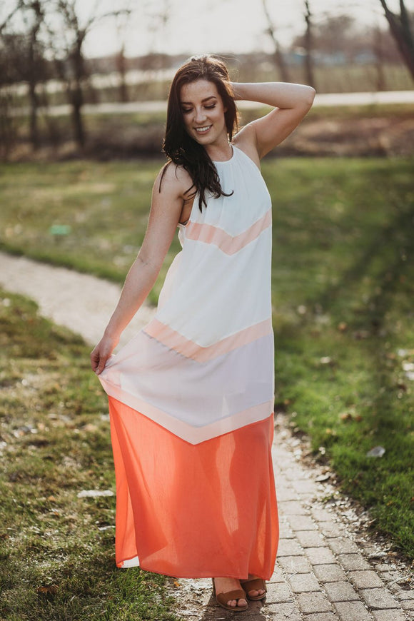 Strawberry Honey Maxi Dress