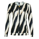 Long Sleeve Zebra Rashguard