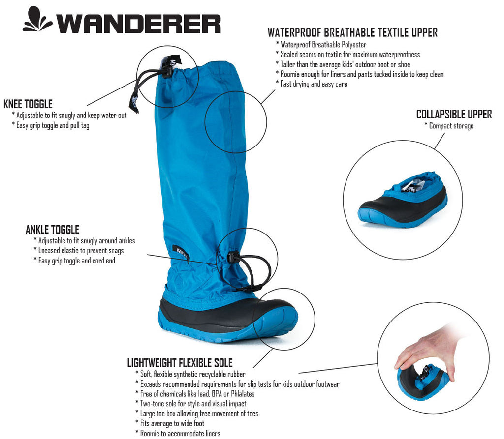 Wanderer Boots - Features and Benefits