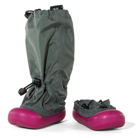 MM - Gray/Pink - Lightweight Outdoor Boots (Infant & Toddler)- Clearance