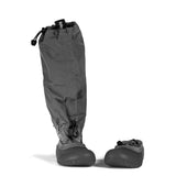 MyMayu outdoor rainboots for kids.  Explorer - Gray Black Soles