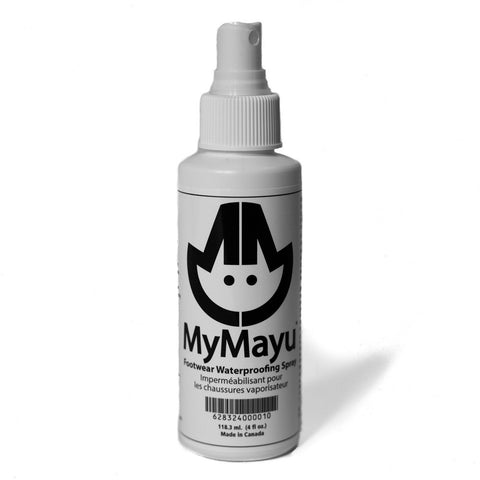 Non-toxic, Eco-friendly, Waterproofing Spray for MyMayu Boots, Wrist Gaiters and other Outdoor Gear