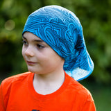 Seamless Tube Scarf/Neck Gaiter - Teal- CLEARANCE- Final Sale