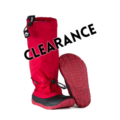 Wanderer - Red - Lightweight Outdoor Boots (Clearance - Final Sale)