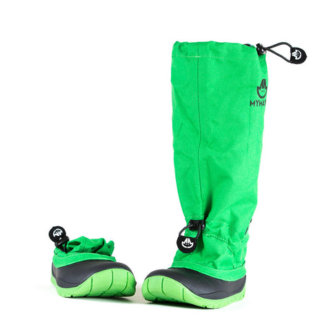 Trekker - Green - Lightweight Outdoor Boots for Active Kids