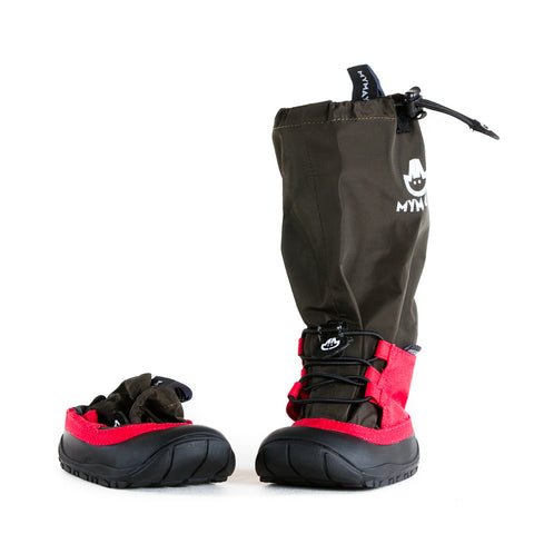 Traveller - Black - Lightweight Outdoor Boots for Adventurous Kids