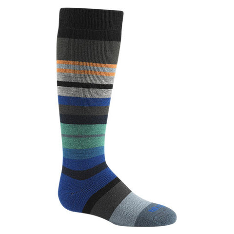 Snow Force Merino Wool Socks by WigWam - Black