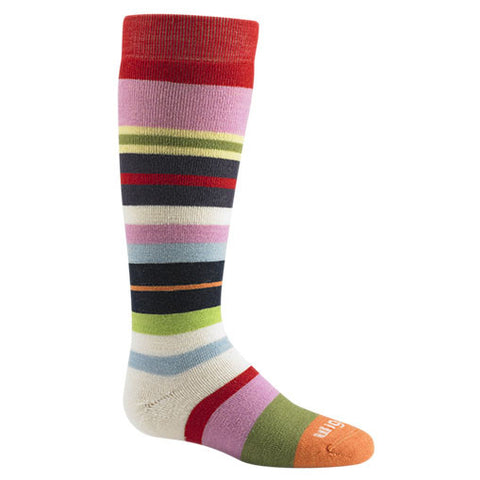 Snow Force Merino Wool Socks by WigWam - Poppy