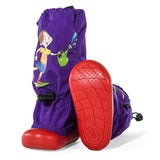 Muddy Munchkins Toddler Rain Boots - Purple Gardening Girl