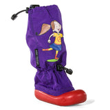 Purple Garden Girl Muddy Munchkins Toddler Rain Boots