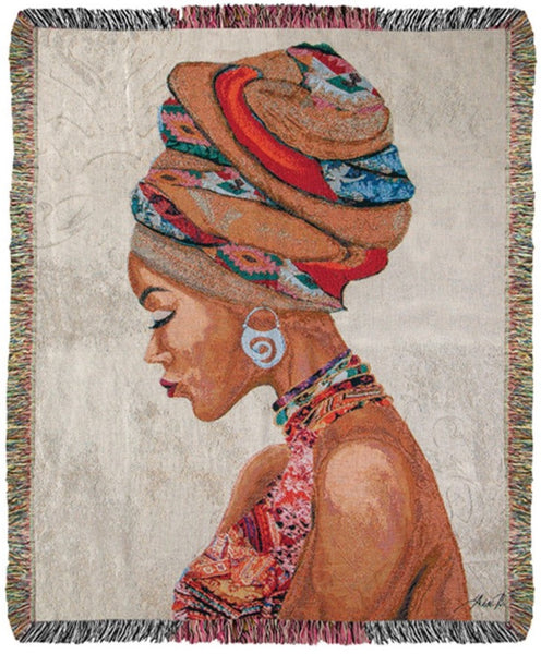African-American Art Tapestry - USA made