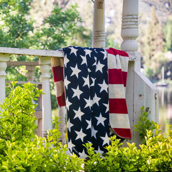 Stars and Stripes Denali Microplush™ Throw Blanket