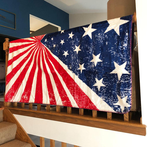 American Pride Denali Microplush™ Throw Blanket