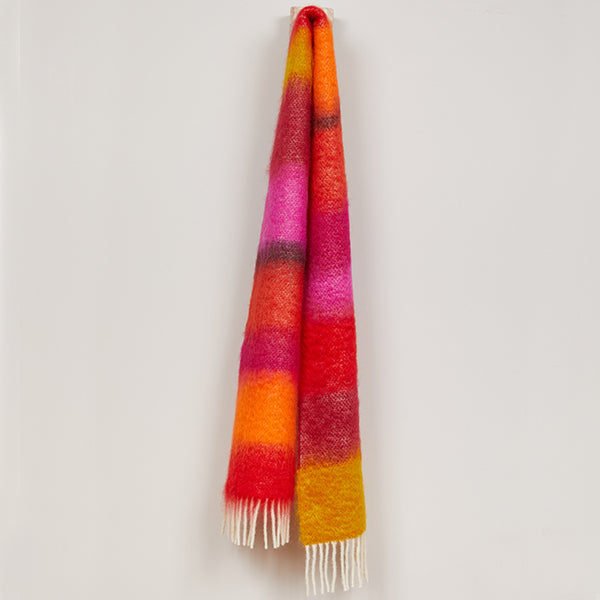 Picota Mohair Scarf- Ezcaray, Spain