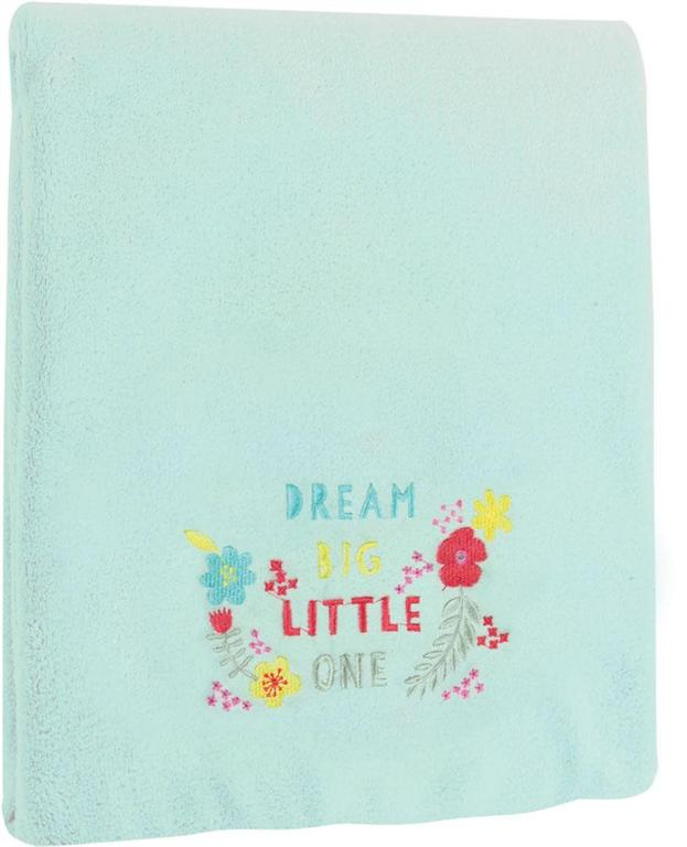Izzy™ Dream Big Fleece Baby Blanket by Lamai McCartan©