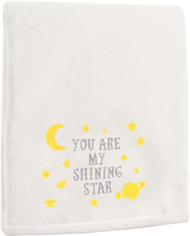 Izzy™ You Are My Shining Star Fleece Baby Blanket by Moira Hershey©