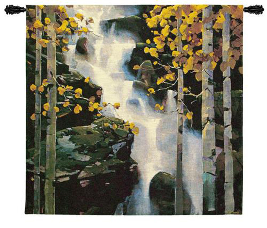 Waterfall Wall Tapestry w/Boucle by Michael O'Toole© -   - 2