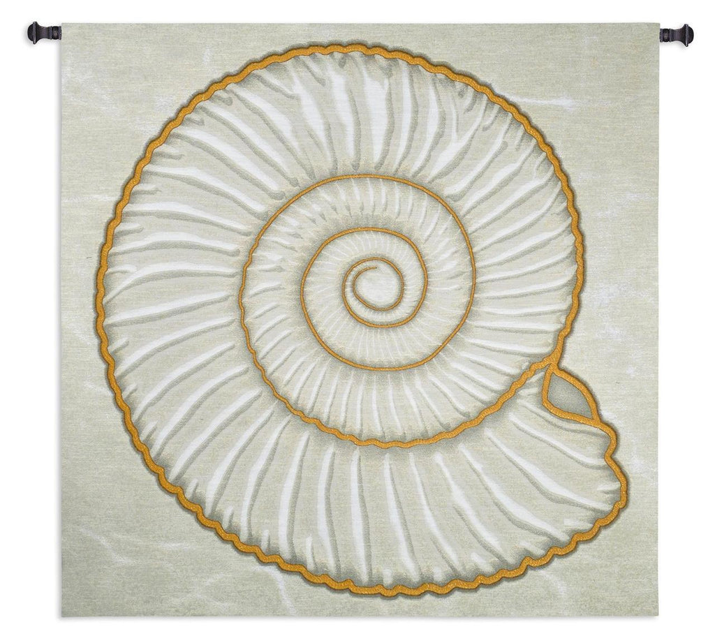 Ammonite Wall Tapestry - Boucle/Lurex