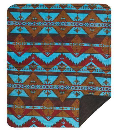 Native Journey Denali Microplush™ Throw Blanket