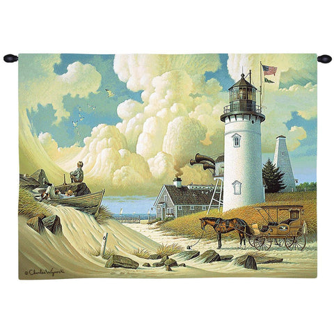 Dreamers Wall Tapestry  by Charles Wysocki©