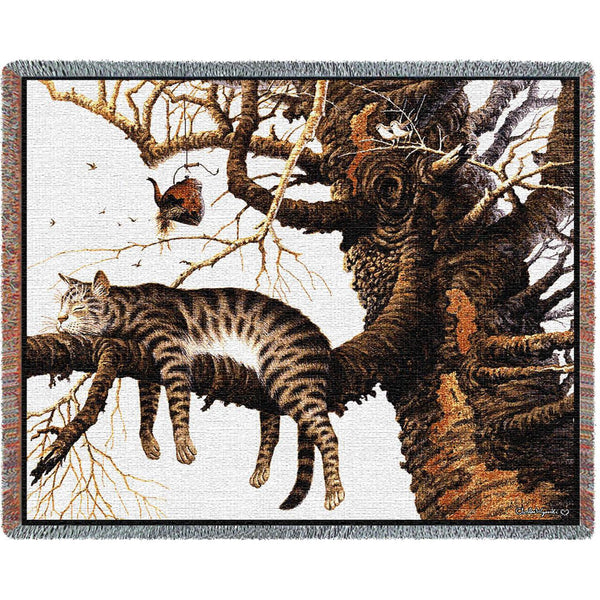 Charles Wysocki© Too Pooped To Participate Totes, Throws, Pillows, Wall Tapestry