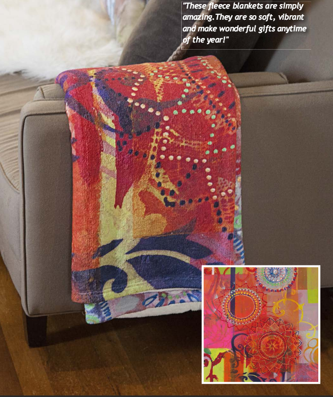Custom Coral Fleece Blankets w/Your Art