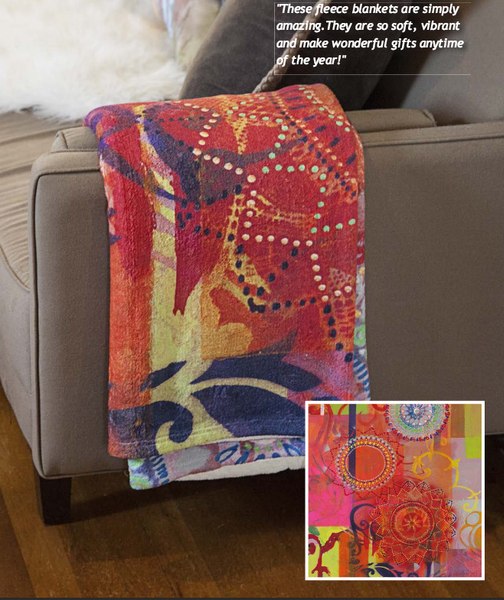 Plush Coral Fleece Blankets Custom with Your Art Design -   - 2