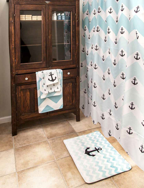 Shower Curtain Custom Printed with Your Art Design or Photo Image