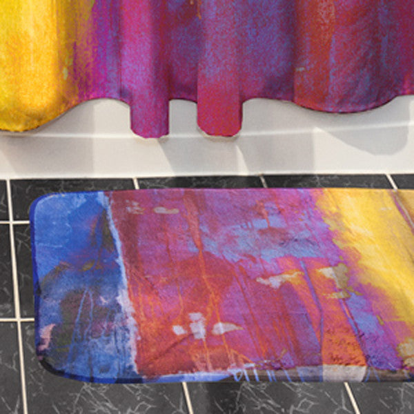 Bath Mats Custom Printed with Your Art Design or Photo Image -   - 1