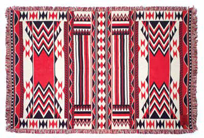 "Debra Sparrow© ""Morning Star"" Throw Blanket"