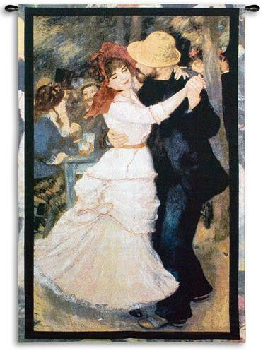 Renoir© Dance At Bougival Wall Tapestry -