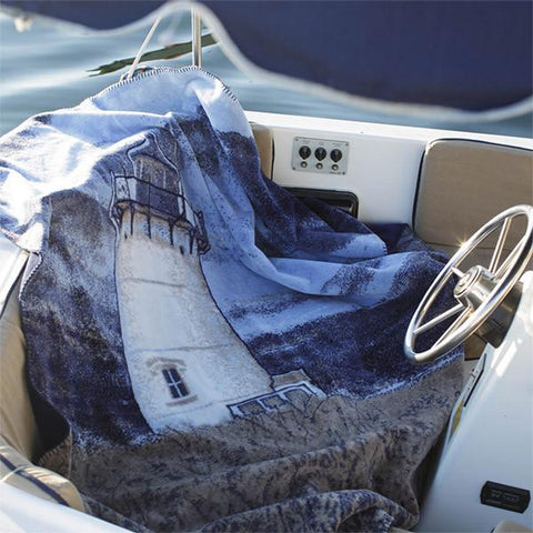 Denali Microplush™ Throw - Lighthouse